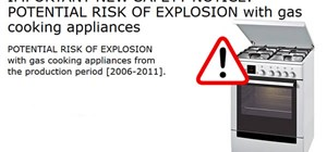 Cooking on Gas Appliances & the Risk of Explosion