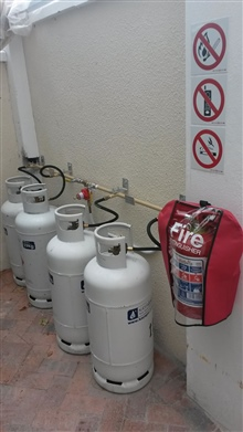 gas installation safety signage gas installers Constantia