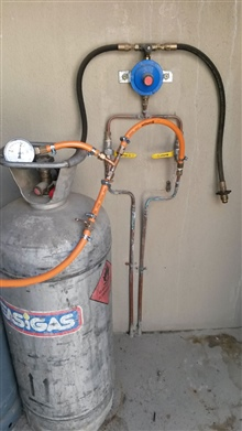 gas pressure testing existing installation gas certificate Pinelands